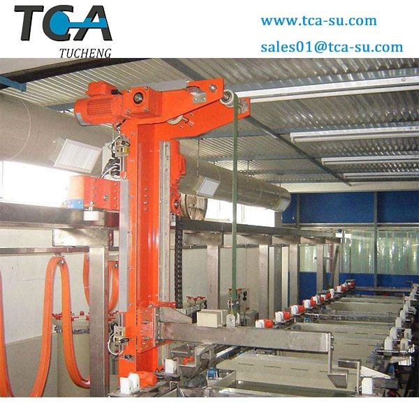 TCA Single arm electroplating line for Nickel-plating